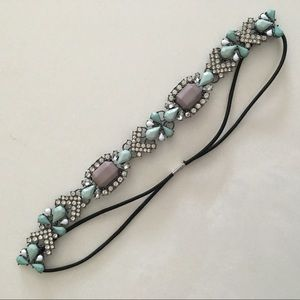 Accessories - Crystal adorned stretchy headband